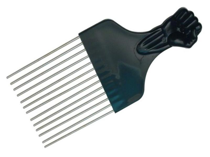 Afro Comb Metaal