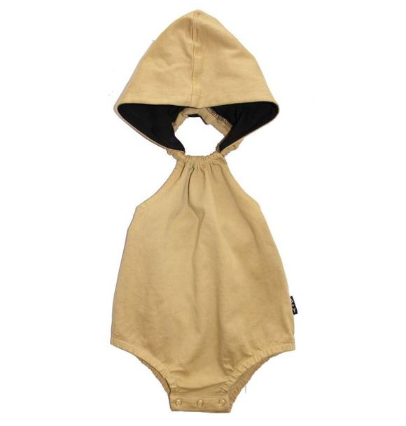 Adam + Yve MUSTARD HOODED ROMPER
