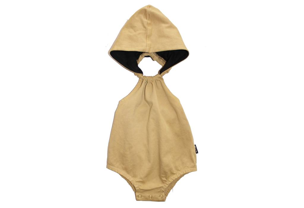 Adam + Yve MUSTARD HOODED ROMPER | ADAM + YVE