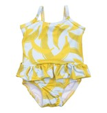 Ollie Jones SKIRTED SWIM BANANA  | HANDMADE CLOTHING FOR KIDS