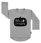 VanPauline NAME SHIRT WITH TEXT BALLOON | VANPAULINE