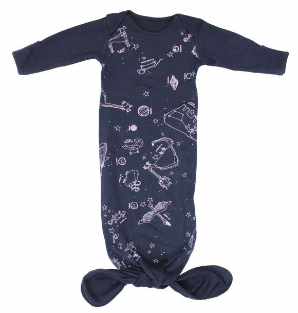Electrik Kidz KNOTTED GOWN GLOW IN THE DARK