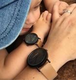 Marlee Watch Twinning horloge volwassenen en kinderen | Lederen horloge volwassene