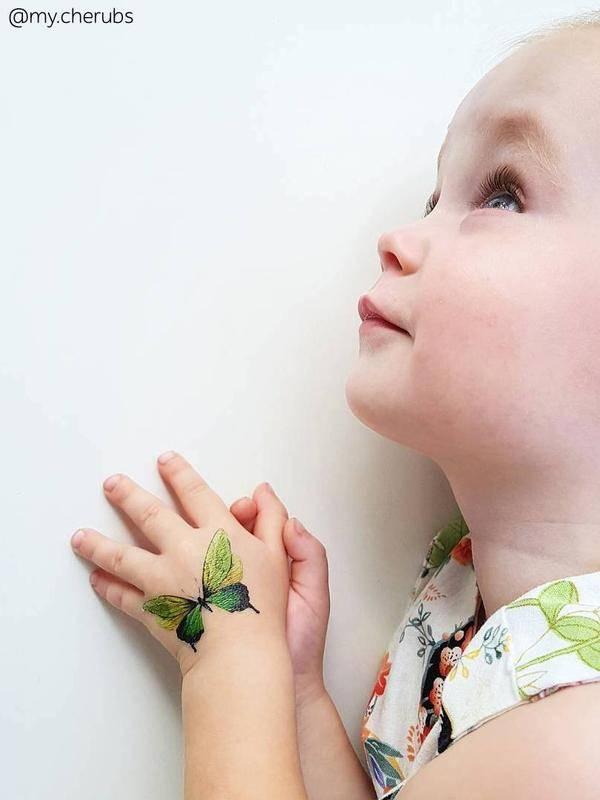 Ducky Street BUTTERFLIES TATTOOS | CHILD TATTOO | TEMPORARY TATTOO