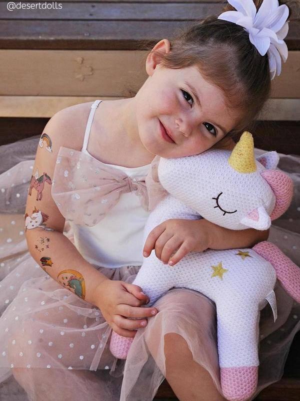 Ducky Street UNICORNS TATTOOS | CHILD TATTOO | TEMPORARY TATTOO