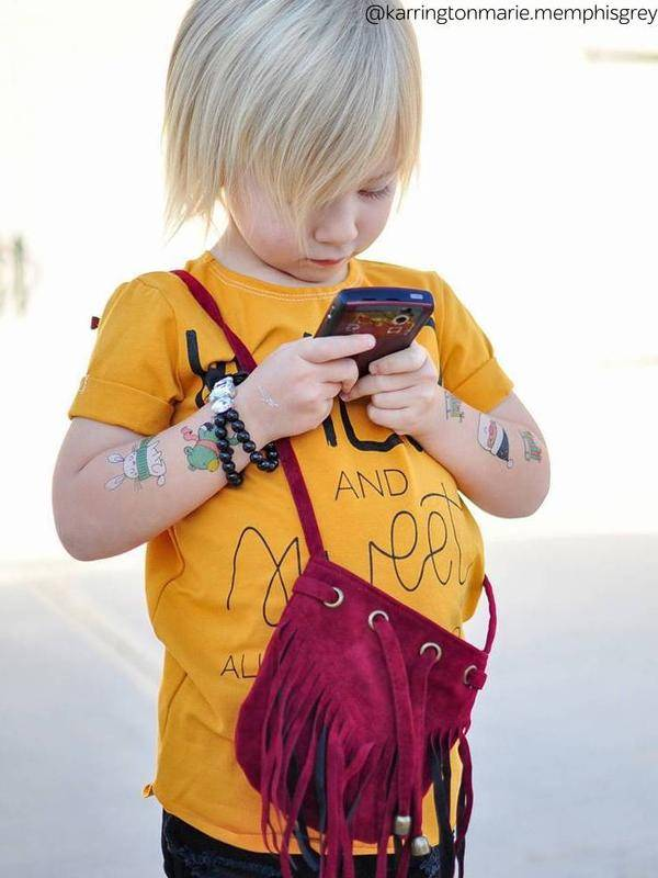 Ducky Street Tattoeage stickers | Tattoos voor kinderen | Stickers voor op lichaam
