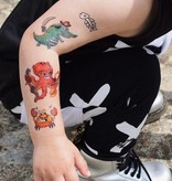 Ducky Street ANIMAL PIRATES TATTOO