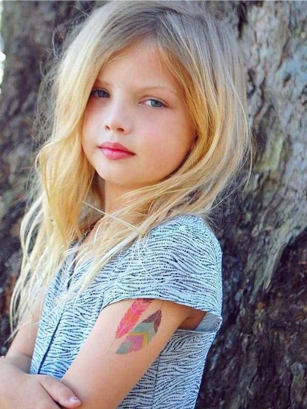 Ducky Street FEATHERS TATTOOS | CHILD TATTOO | TEMPORARY TATTOO