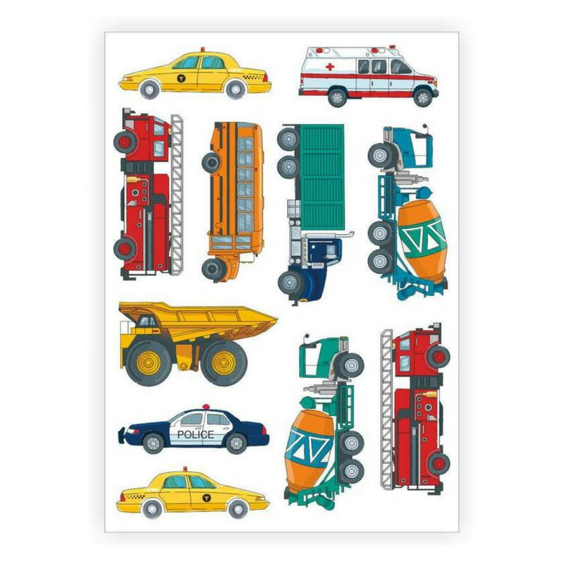 Ducky Street VEHICLES TATTOO | TATTOOS WITH CARS AND FIRE BRIGADE