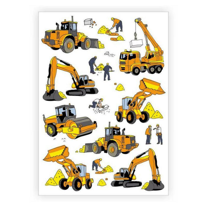 Ducky Street CONSTRUCTION TATTOOS | CHILD TATTOO | TEMPORARY TATTOO