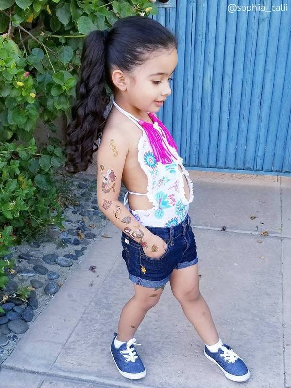Ducky Street MERMAID TATTOOS | CHILD TATTOO | TEMPORARY TATTOO