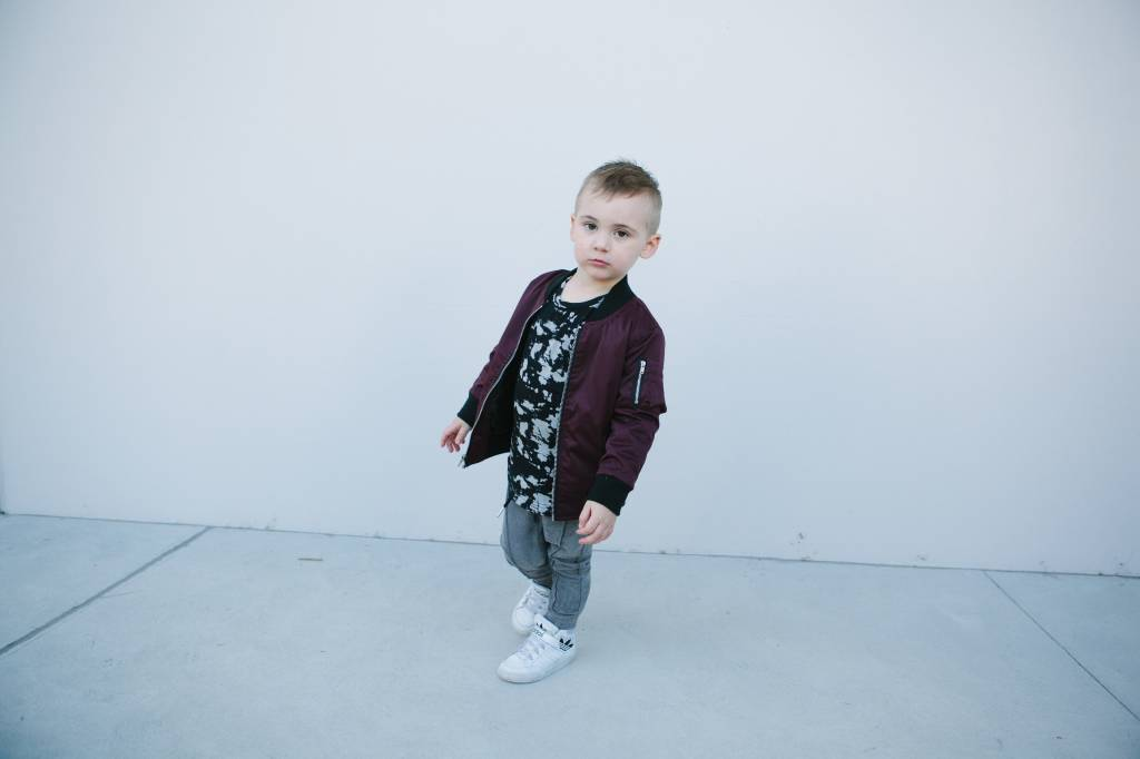 Adam + Yve BLACK AND GREY SPOTTED SHIRT | COOL BOYSFASHION | URBAN STREETWEAR FOR KIDS