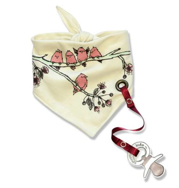 Electrik Kidz BANDANA BIB CHERRY TREE