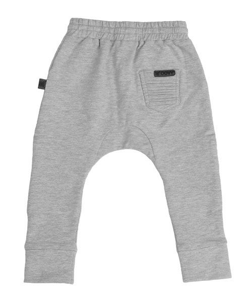 Oovy GREY DISTRESSED PANTS- OOVY
