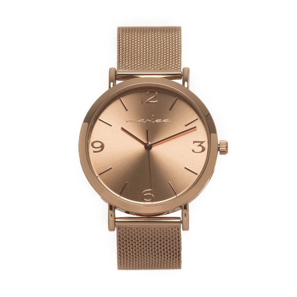 Marlee Watch ROSE GOLD MESH - ADULT - MARLEE WATCHES