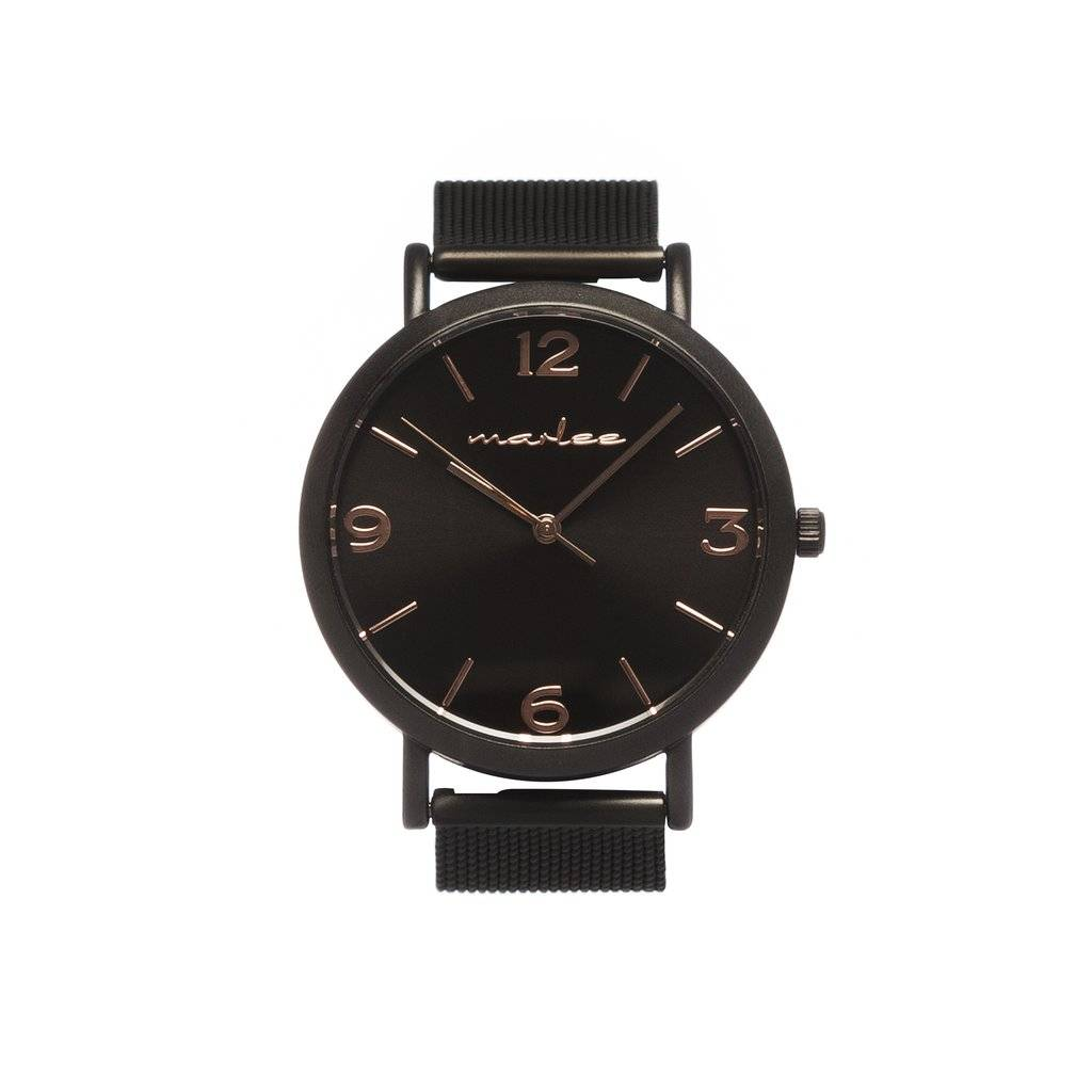 Marlee Watch BLACK COPPER MESH | ADULT WATCH | MARLEE WATCHES