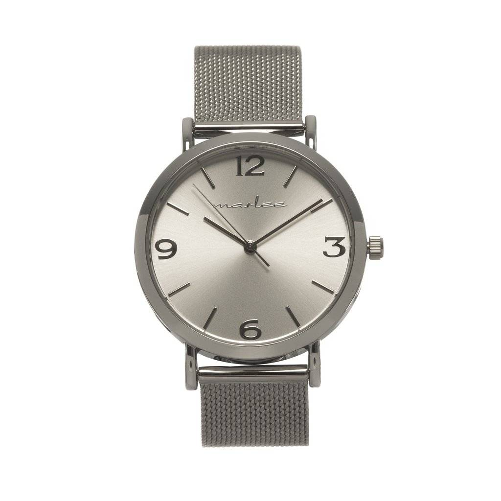 Marlee Watch SILVER MESH - ADULT - MARLEE WATCHES