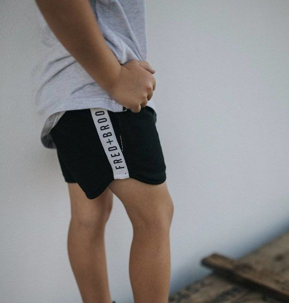 Fred and Brooks BLACK SHORTS