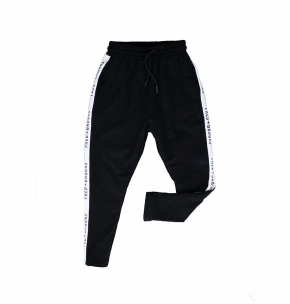 Fred and Brooks BLACK JUNIOR JOGGER