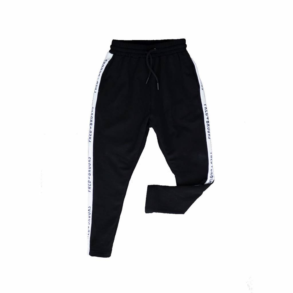 Fred and Brooks BLACK JUNIOR JOGGER - FRED AND BROOKS