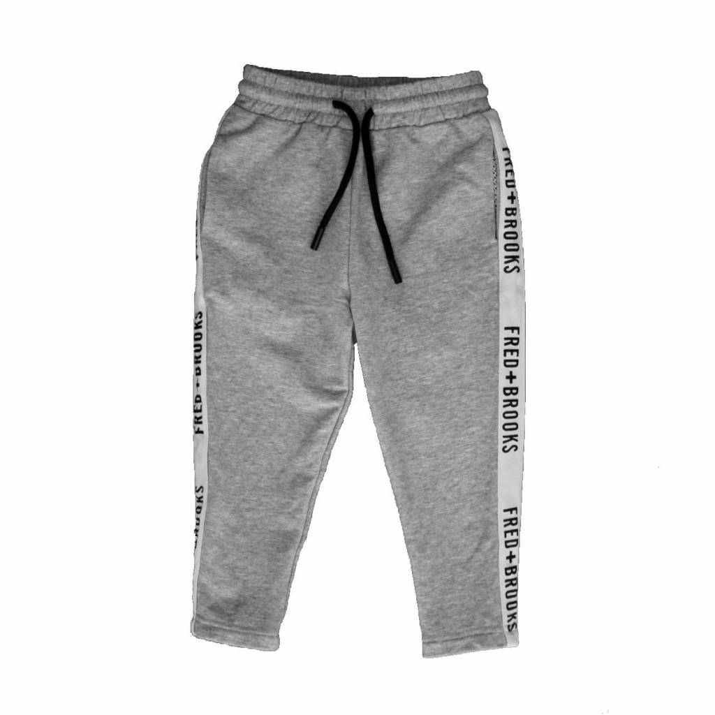 Fred and Brooks GREY JUNIOR JOGGER - FRED AND BROOKS
