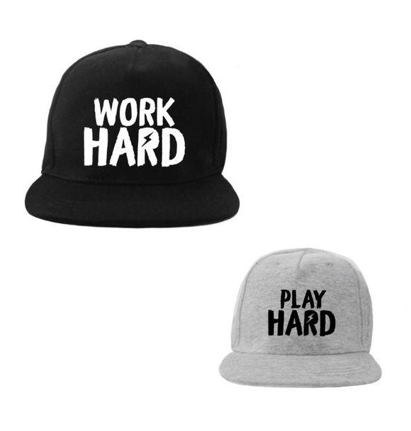 VanPauline TWINNING CAPS - WORK HARD PLAY HARD