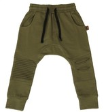 Oovy KHAKI DISTRESSED PANTS - OOVY