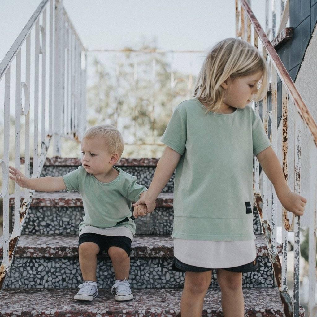 kaki shirt voor kids
