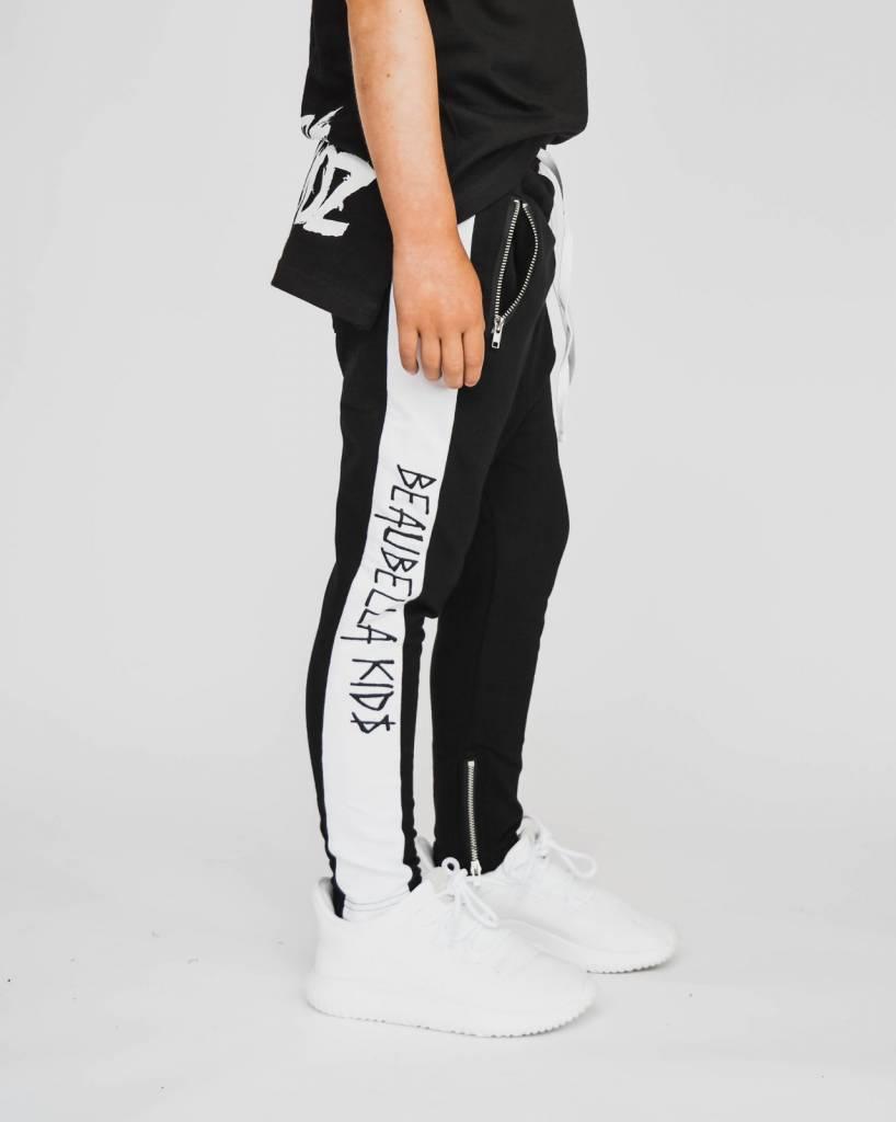 jeans met scheuren zwart