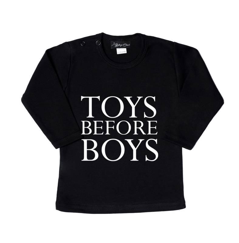 Baby's Closet TOYS BEFORE BOYS  | BABY CLOSET