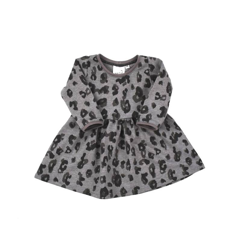 stoer jurkje luipaardprint