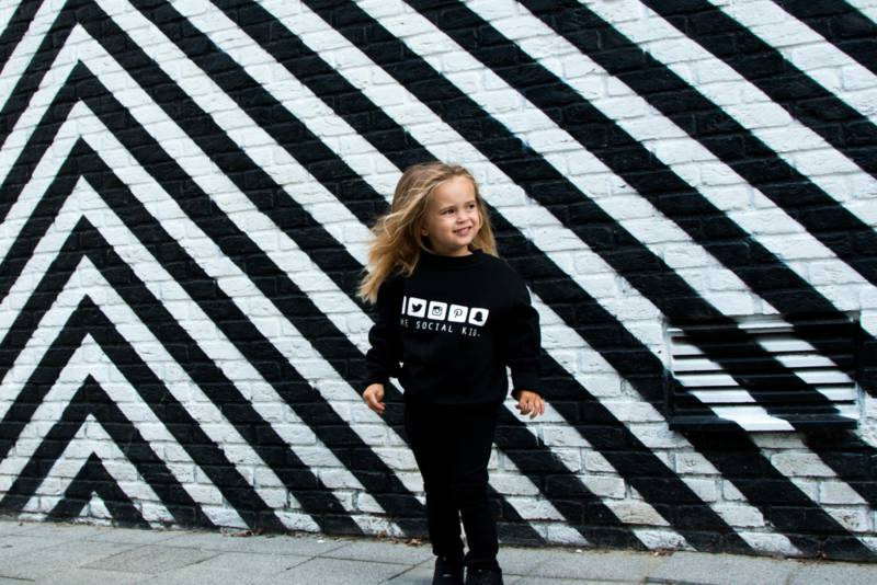Baby's Closet SOCIAL KID SWEATER - BABY'S CLOSET