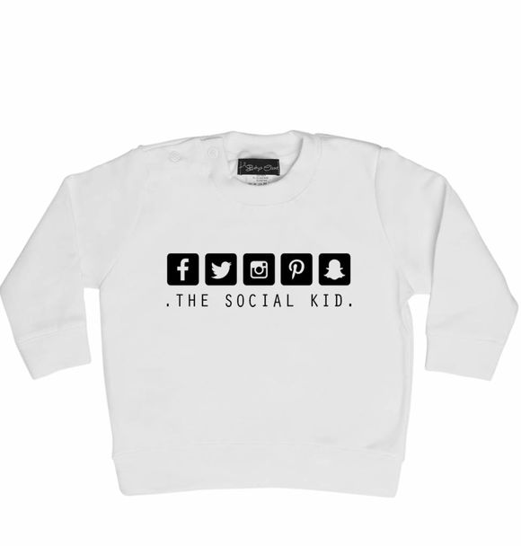 Baby's Closet SOCIAL KID SWEATER