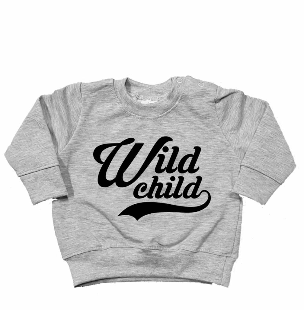Baby's Closet WILD CHILD SWEATER - BABY'S CLOSET