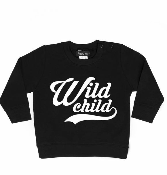 Baby's Closet WILD CHILD SWEATER
