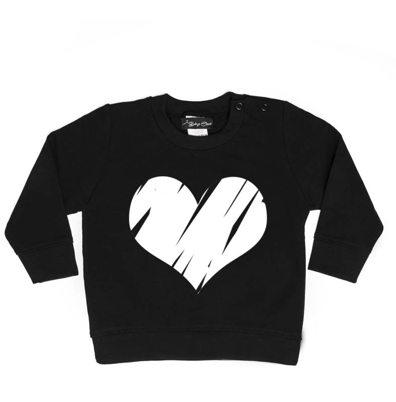 Baby's Closet BIG HEART SWEATER | BABY'S CLOSET
