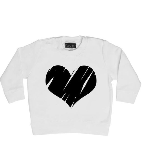 Baby's Closet BIG HEART SWEATER