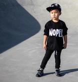Baby's Closet NOPE SHIRT EN LONGSLEEVE | BABYCLOSET