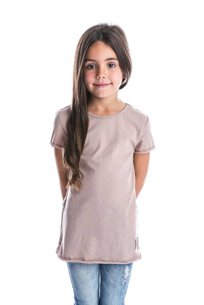 Beau Hudson RAW EDGE BLUSH TALL TEE | BEAU HUDSON