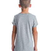 Beau Hudson RAW EDGE GREY MARL TALL TEE | BEAU HUDSON