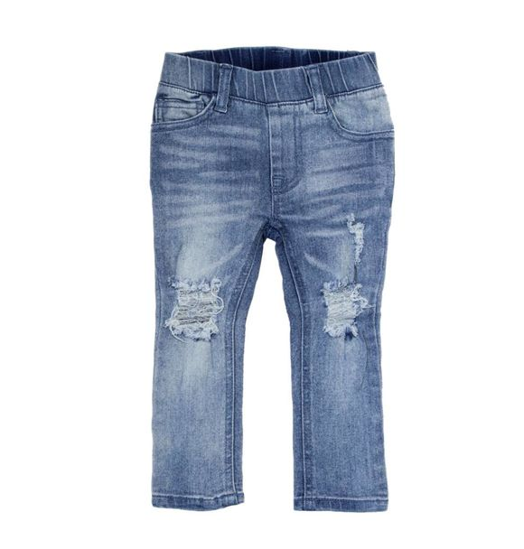 Beau Hudson pre-order BLUE DISTRESSED DENIM JEGS