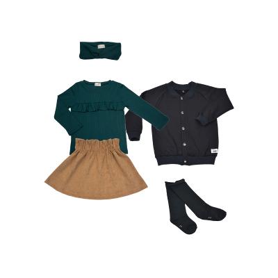 hippe online meisjeskleding met ribstof