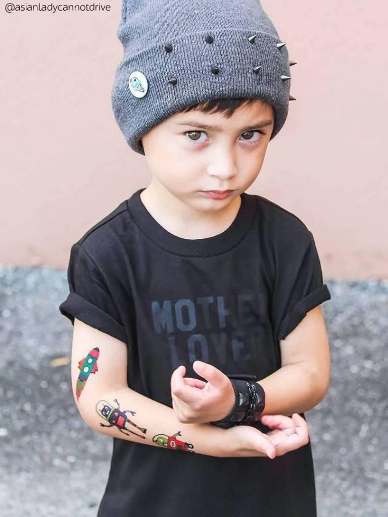 Ducky Street SPACE TATTOOS | CHILD TATTOO | TEMPORARY TATTOO