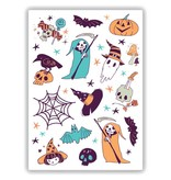 Ducky Street BOO TATTOO -  Sticker Kinder tatoeages met water afneembaar