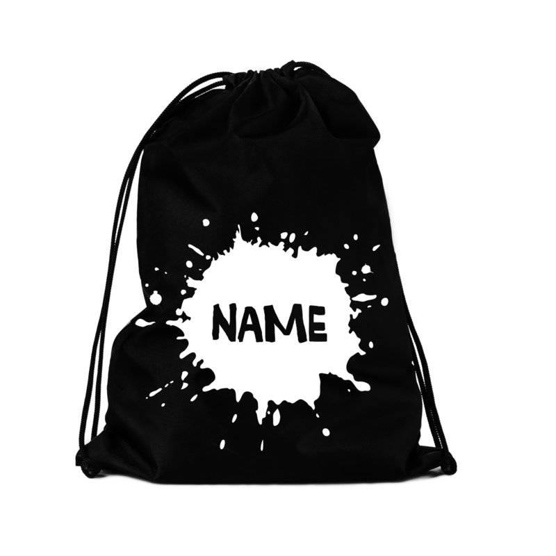 VanPauline SPORT BACKPACK SPLATTER NAME | VANPAULINE