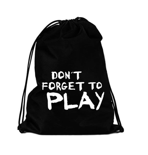 VanPauline STRINGBAG DO NOT FORGET TO PLAY