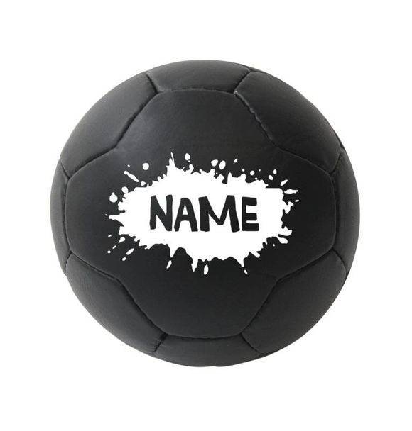 VanPauline BALL BLACK SPLATTER + NAME