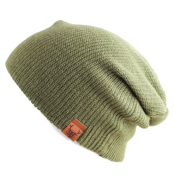 Oovy OLIVE KNIT BEANIE