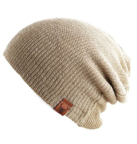 Oovy LATTE KNIT BEANIE