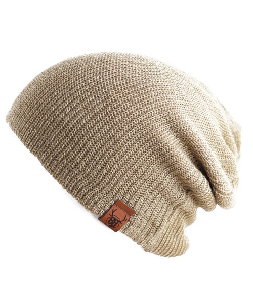 Oovy LATTE KNIT BEANIE  | OOVY